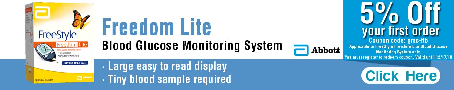 Abbot Freedom Lite Blood Glucose Monitoring System - DiabeticsTreatment.com